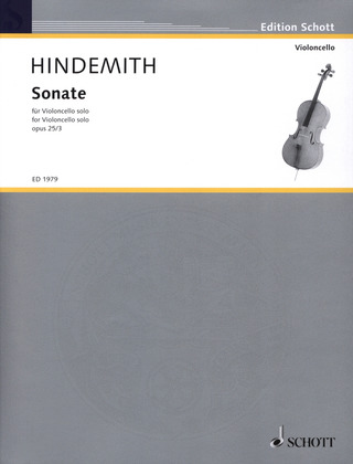 Paul Hindemith: Sonate op. 25/3 (1922)