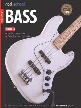 Rockschool Bass - Grade 4 (2012-2018)