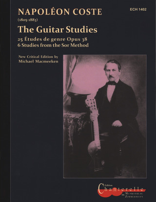 Napoléon Coste: The Guitar Studies