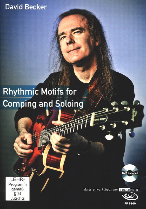 David Becker: Rhythmic Motifs for Comping and Soloing