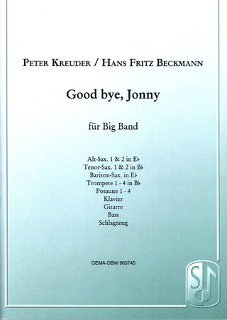 Peter Kreuder: Good bye, Jonny