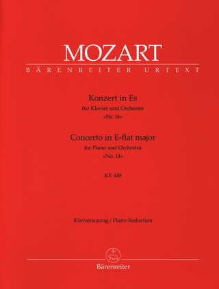 Wolfgang Amadeus Mozart: Concerto No. 14 in E-flat major K. 449