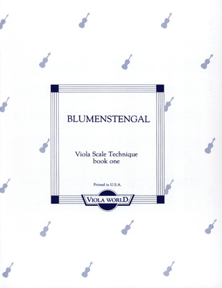 Albrecht Blumenstengel: Viola Scale Technique 1