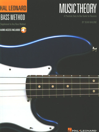 Malone Sean: Hal Leonard Bass Method: Music Theory Btab Book