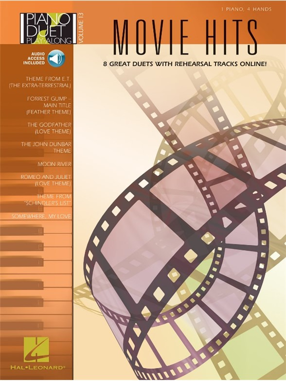 Piano Duet Play-Along Volume 13: Movie Hits