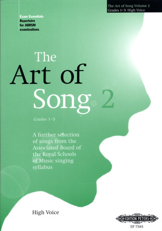 The Art of Song: Selected Songs, Grades 1 - 5, hohe Stimme