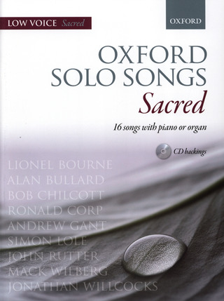 Oxford Solo Songs - Sacred