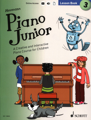 Hans-Günter Heumann: Piano Junior: Lesson Book 3