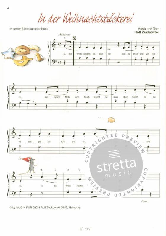 Danke Lieber Tannenbaum Text.Rolfs Weihnachts Klavierkinderalbum Von Rolf Zuckowski Im Stretta