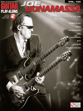 Joe Bonamassa: Guitar Play-Along Volume 152: Joe Bonamassa (Book/Online Audio)