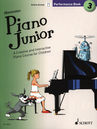 Hans-Günter Heumann: Piano Junior: Performance Book 3