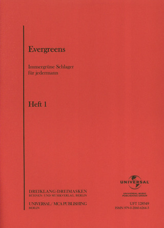 Evergreens, Heft 1