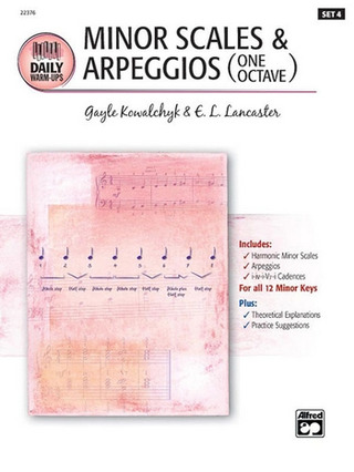 Kowalchyk Gayle + Lancaster E. L.: Minor Scales + Arpeggios (Set 4)