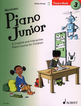 Hans-Günter Heumann: Piano Junior: Theory Book 3