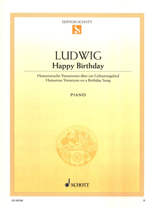 Ludwig, Claus-Dieter: Happy Birthday