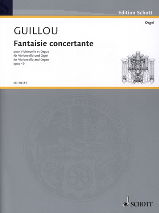 Jean Guillou: Fantaisie concertante op. 49