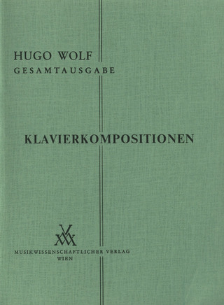 Hugo Wolf: Klavierkompositionen
