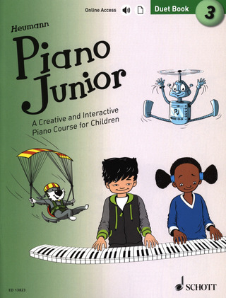 Piano Junior: Duet Book 3