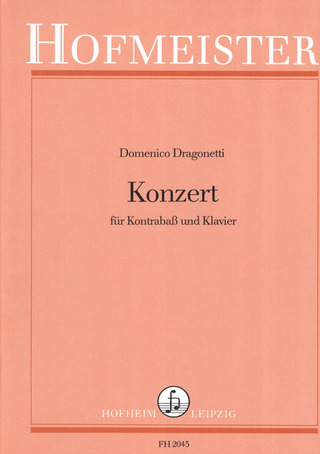 Domenico Dragonetti: Konzert