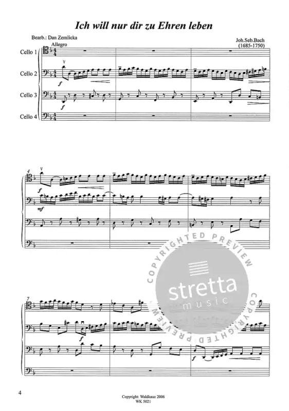 Ich Will Nur Dir Zu Ehren Leben von Johann Sebastian Bach ...