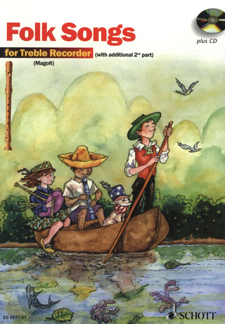 Folk Songs for Treble Recorder