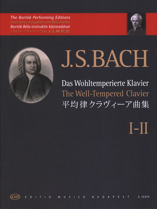 Johann Sebastian Bach: The Well-Tempered Clavier 1-2
