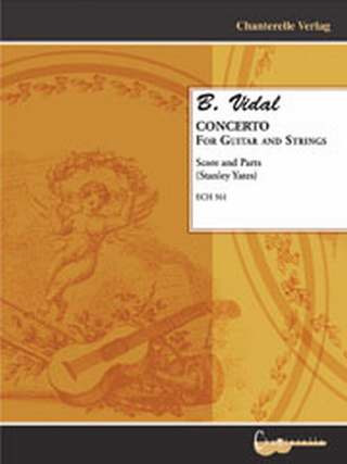 Vidal B.: Concerto for Guitar and Strings