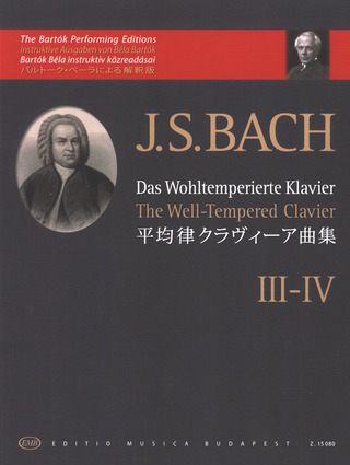 Johann Sebastian Bach: The Well-Tempered Clavier 3-4