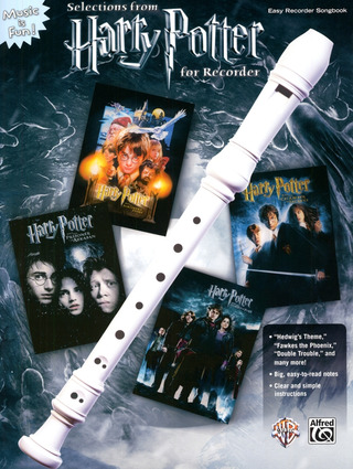 Harry Potter For Recorder - Selections