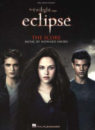 Howard Shore: Howard Shore: The Twilight Saga - Eclipse Film Score (Big Note Piano)