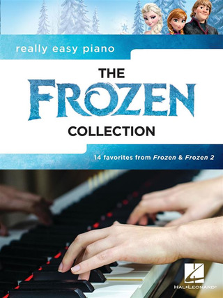 Really Easy Piano: The Frozen Collection
