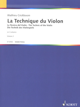 Mathieu Crickboom: La technique du violon 2
