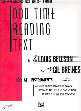 Bellson Louis: Odd Time Reading