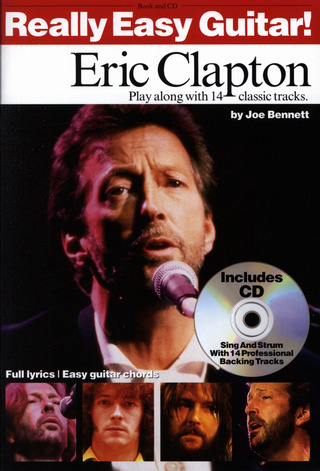 Eric Clapton: Really Easy Guitar Clapton, E Tab Book/Cd