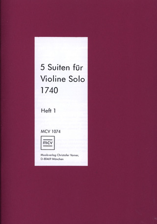 Anonymus: 5 Suiten Band 1 (Nr.1-3)
