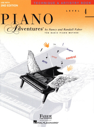 Randall Faber et al.: Piano Adventures 4 – Technique & Artistry