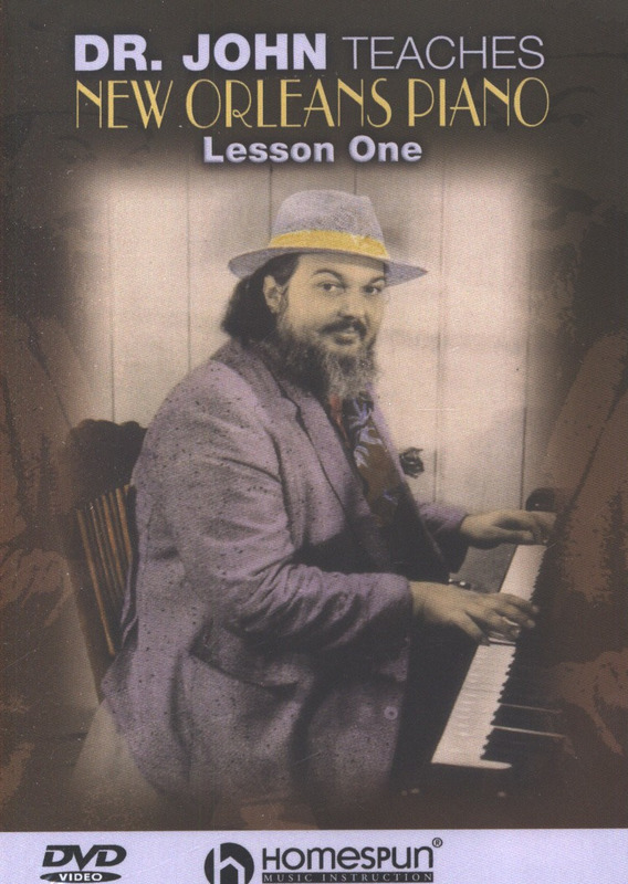 John Dr: Dr. John Teaches New Orleans Piano Dvd 1