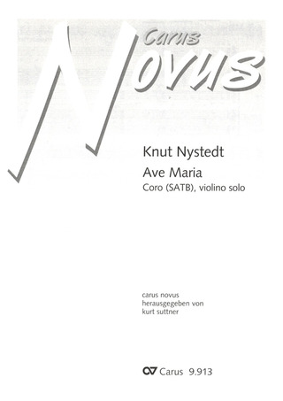 Knut Nystedt: Ave Maria op. 110