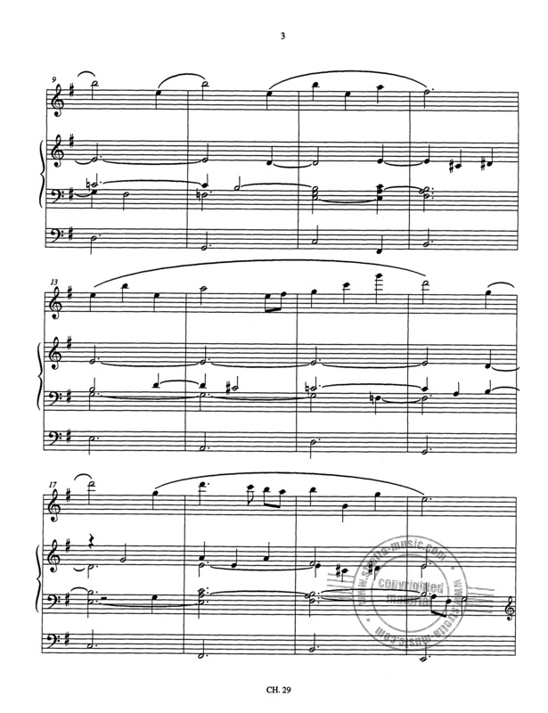 Denis Bédard: Melodia for flute and organ (2)