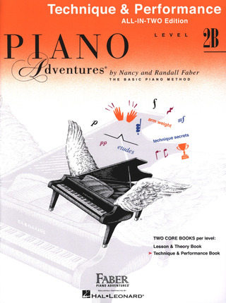 Randall Faber et al.: Piano Adventures 2B – Technique & Performance
