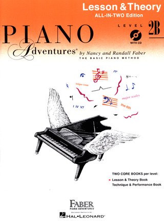 Randall Faber et al.: Piano Adventures 2B – Lesson & Theory