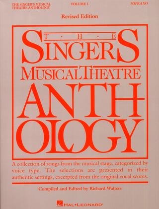 The Singer's Musical Theater Anthology 1