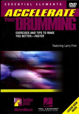 Finn Larry: Accelerate Your Drumming (Finn) Dvd