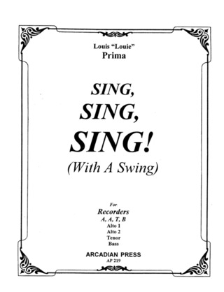 PRIMA LOUIS: SING SING SING (WITH A SWING)