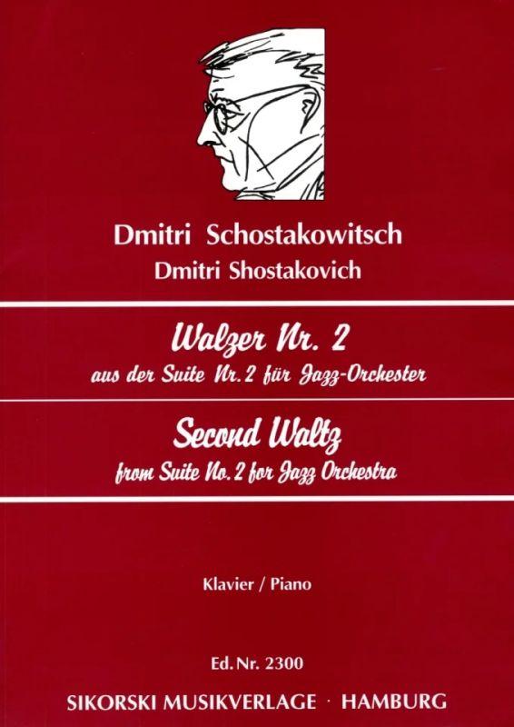 schostakowitsch walzer nr. 2 noten kostenlos