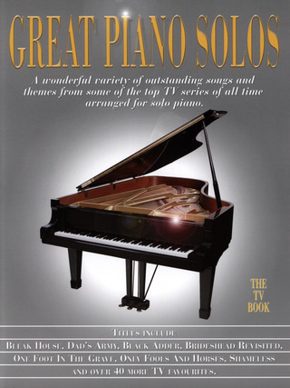 Great Piano Solos – The TV Book