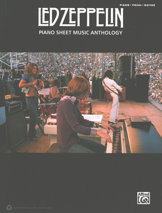 Led Zeppelin Piano Anthology Songbook