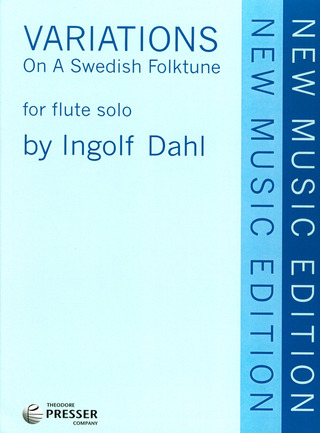 Dahl Ingolf: Variations On A Swedish Folktune