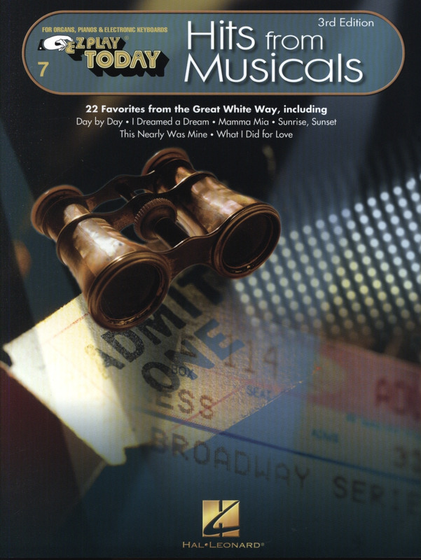 E-Z Play Today 7: Hits From Musicals