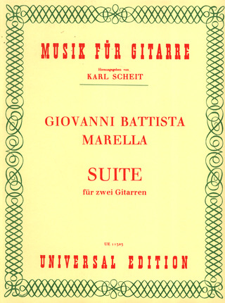 Giovanni Battista Marella: Suite A-Dur